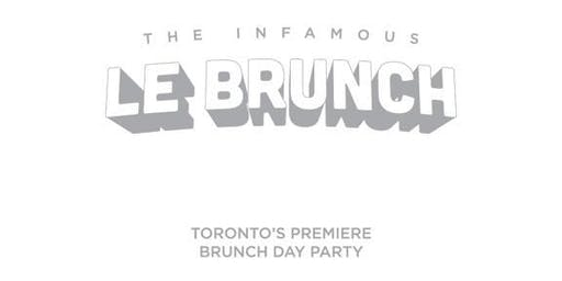 **LE BRUNCH** Holiday Edition