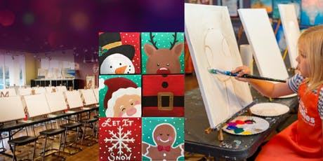 Holiday Ornaments - Little Brushes Family Friendly Ages 6+ Welcome! tickets