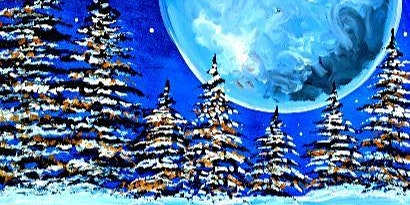 Paint Wine Denver Frosted Moon Sat Feb 1st 7pm $40