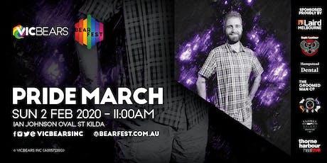 BearFEST 2020 - Pride March tickets