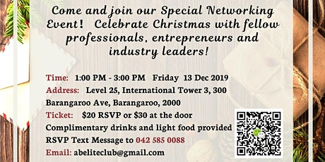 Christmas Special Business Networking Event  tickets