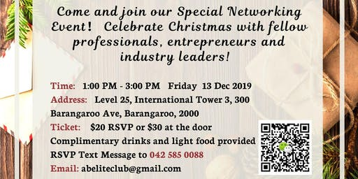 Christmas Special Business Networking Event