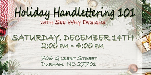 Holiday Handlettering 101
