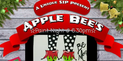 Applebees Paint Night