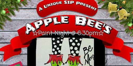 Applebees Paint Night