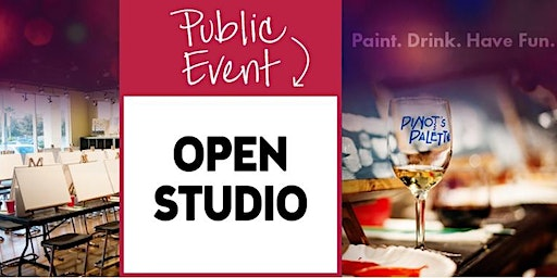 Open Studio at Pinot's Palette - Holiday Addition $20 Try Me!