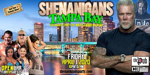 Kevin Nash's Shenanigans VIP Party - TAMPA BAY
