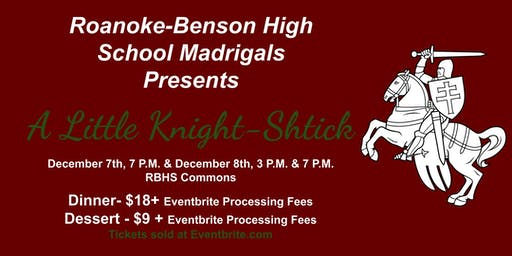 Roanoke-Benson High School Madrigal Dinner 12/8