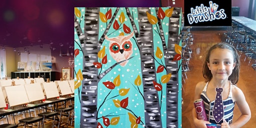 Happy Hootie - Little Brushes Family Friendly Ages 6+ Welcome!