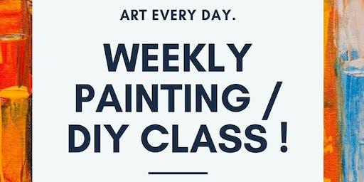 Weekly Painting / DIY Night