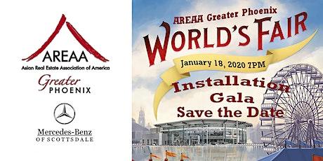 AREAA Greater Phoenix 2020 Installation Gala tickets