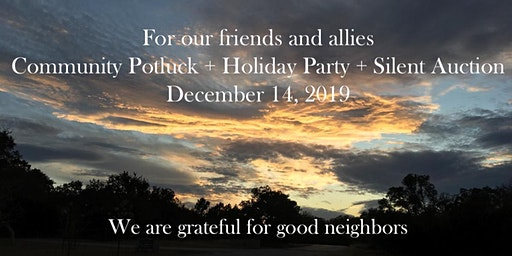Friendship Alliance Community Potluck + Holiday Party + Silent Auction