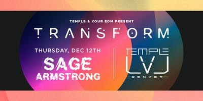 Sage Armstrong at Temple Discounted Guestlist - 12/12/2019