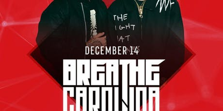Breathe Carolina at Temple Discounted Guestlist - 12/14/2019 tickets