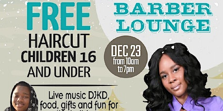 Free Hair Cut for Holidays  tickets