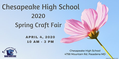 POSTPONED 2020 Spring Craft Fair - CHS Band Boosters tickets