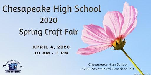 2020 Spring Craft Fair - CHS Band Boosters