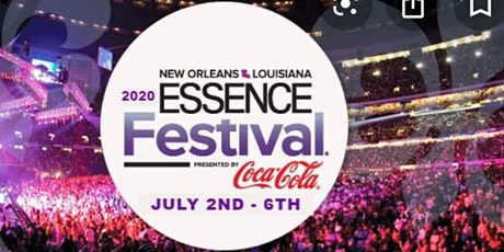 """$599 Essence Festival 2020 - """"Sold Out"""" tickets"""