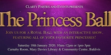 The Princess Ball tickets