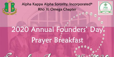 RXO 2020 Founders' Day Prayer Breakfast