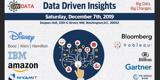 Data Driven Insights Conference by GW Data Club