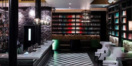 Cocktails in a Book Themed Bar: Novela [SOMA]tickets
