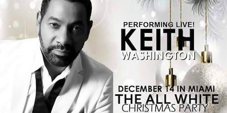 R&B Legend Keith Washington (Up Close & Personal) tickets