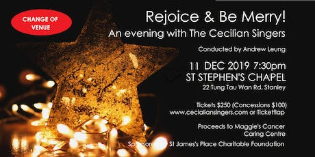 Rejoice & Be Merry!  An Evening with the Cecilian Singers tickets