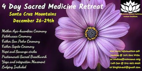 4 Day Sacred Plant Medicine Retreat tickets