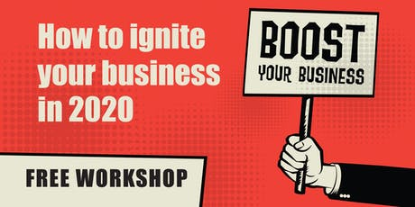BOOST Your Business - Saturday Workshop tickets