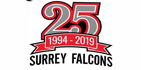 Surrey Falcons 25th Anniversary tickets