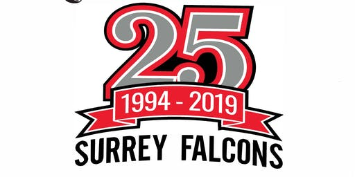 Surrey Falcons 25th Anniversary