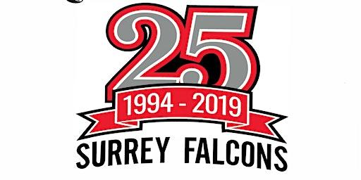 Surrey Falcons 25th Anniversary