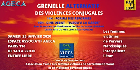 Grenelle ALTERNATIF des violences conjugales billets