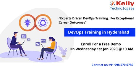Attend For DevOps Free Interactive Demo Session On Wed 1st Jan 2020, @ 10 tickets