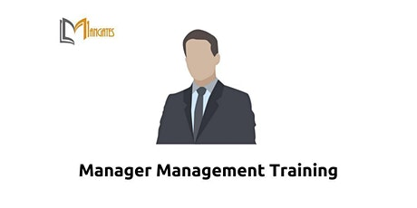 Manager Management 1 Day Virtual Live Training in London tickets