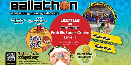 Festive Supreme Ballathon @ Pasir Ris ActiveSG (pls download Activesg app) tickets