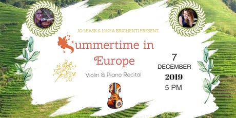 Summertime in Europe tickets