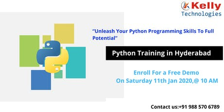 Enroll To Attend For The Free Python Demo Session At Kelly Technologies tickets