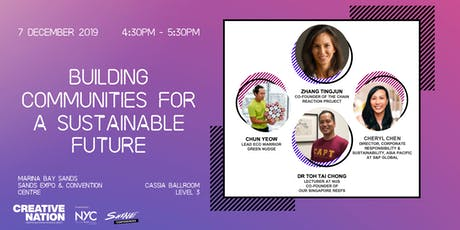 CREATIVE NATION: BUILDING COMMUNITIES FOR A SUSTAINABLE FUTURE tickets
