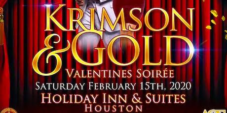 Krimson & Gold  Valentines Soiree tickets