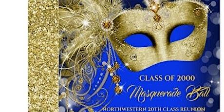 NORTHWESTERN 20TH CLASS REUNION MASQUERADE BALL tickets