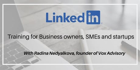 LinkedIn for Business Owners, SMEs & startups tickets