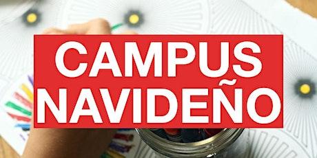 Campus Navideño - Creamos Nuestro Mundo Maker entradas