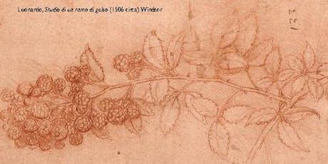 La scienza e la scrittura. Enigmi, favole e facezie di Leonardo da Vinci biglietti
