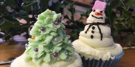 Festive Cupcake Decorating