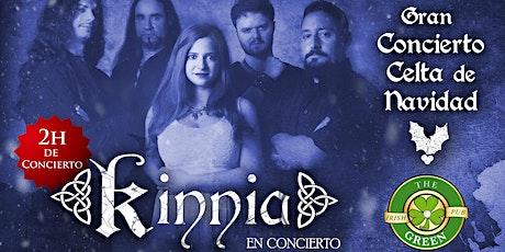 Gran Concierto Celta de Navidad con Kinnia entradas