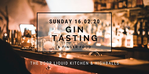 The Door - Sunday GIN Tasting