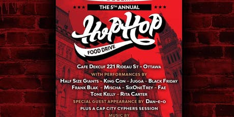 The 5th Annual Hip Hop Food Drive tickets