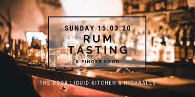 The Door - Sunday RUM Tasting